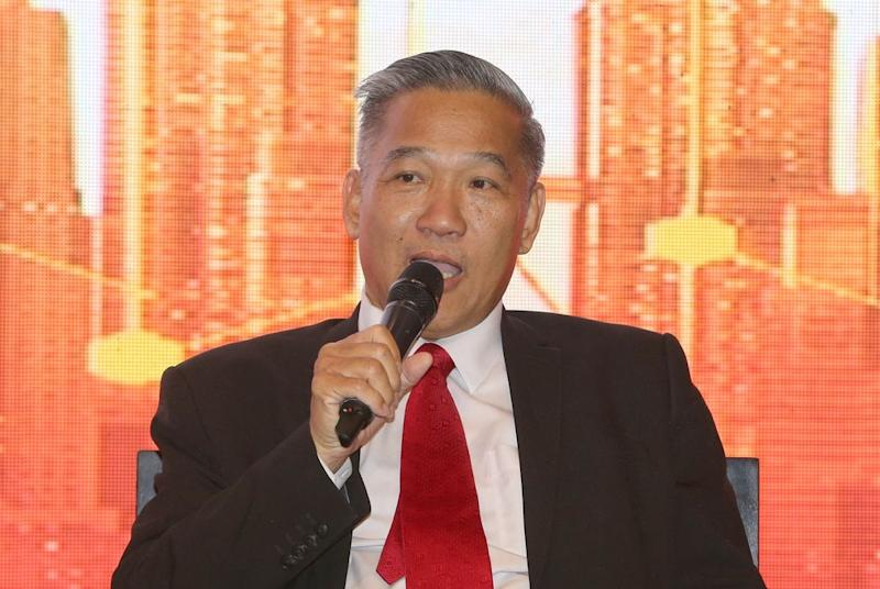 SME Association of Malaysia president Datuk Michael Kang said that many industries are reeling from Covid-19, including the tourism and manufacturing sectors. — Picture by Razak Ghazali