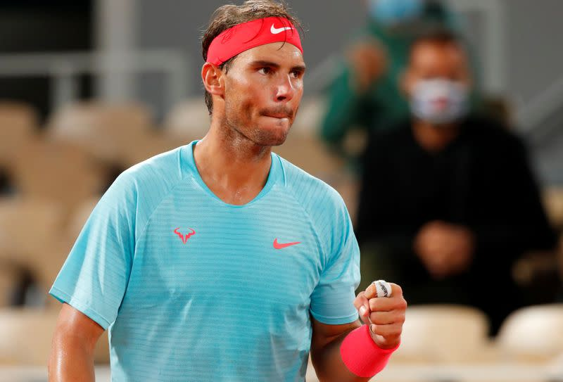 Ruthless Nadal charges into French Open last 16