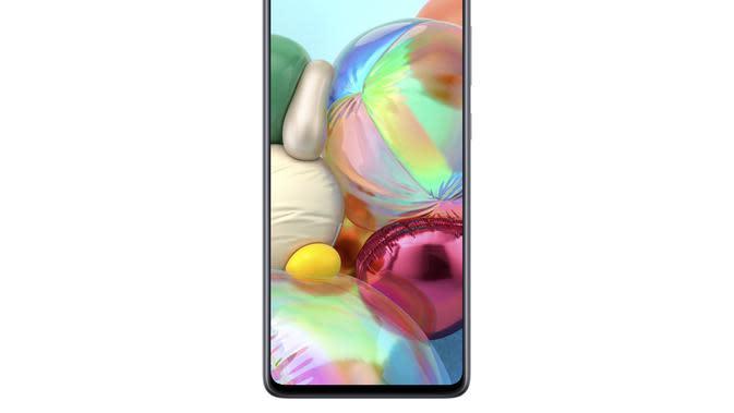 Tampilan Samsung Galaxy A71 (sumber: Samsung)