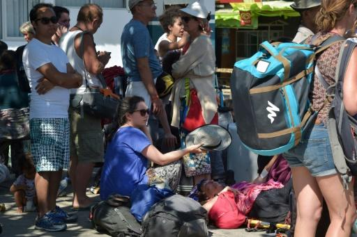 Tourists have fled en masse from Lombok and the Gili islands since the quakes