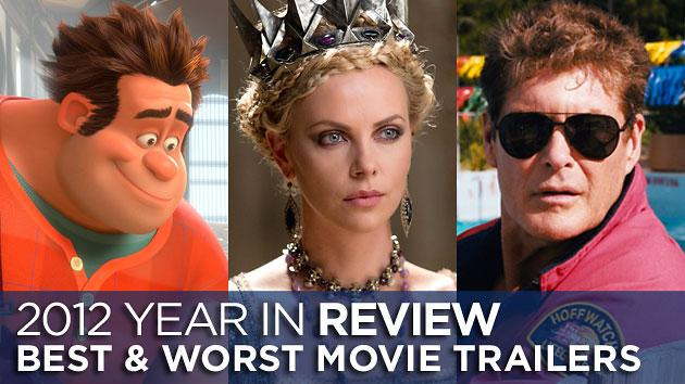 The best & worst movie trailers of 2012: The good, the bad, and the unfathomable