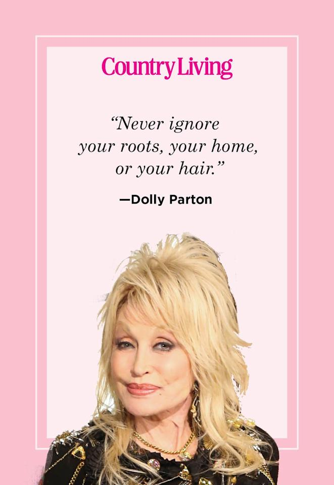 """<p>""""Never ignore your roots, your home, or your hair.""""</p>"""