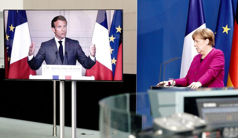 EU 'frugals' formally oppose Merkel-Macron plan for coronavirus grants