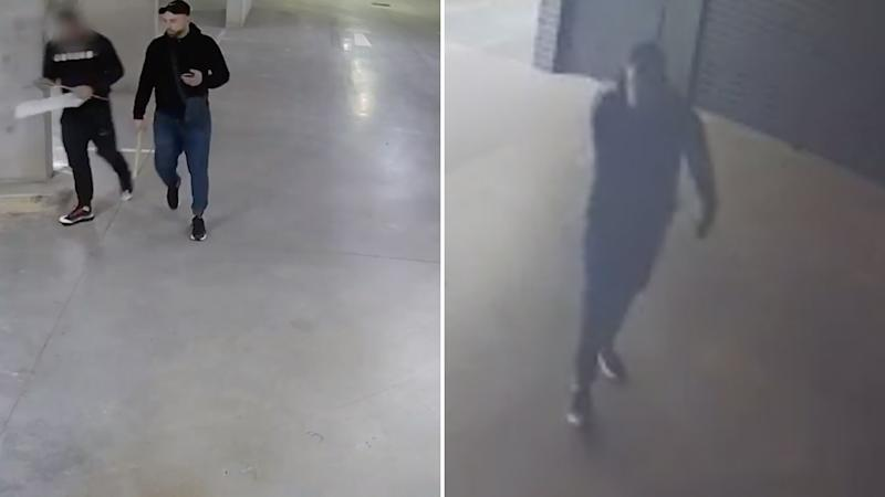 CCTV vision of a man police want to speak to. Source: NSW Police