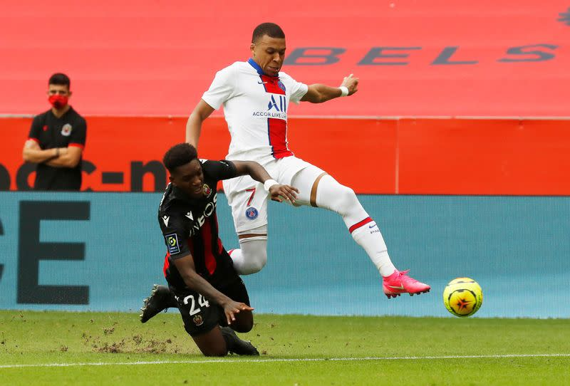 Mbappe shines as PSG hit top gear in Nice