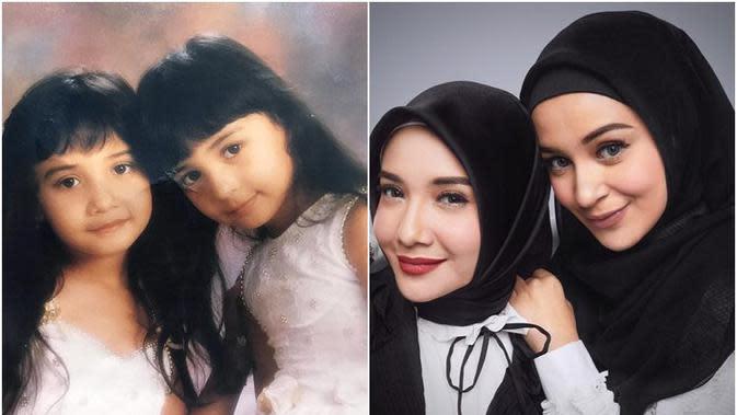 6 Potret Transformasi Adik Kakak Seleb saat Kecil Vs Kini, Kompak Sedari Dulu (sumber: Instagram.com/shireensungkar)