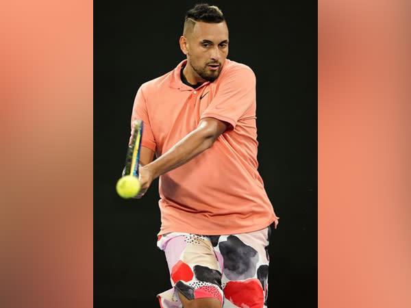 Australian tennis star Nick Kyrgios