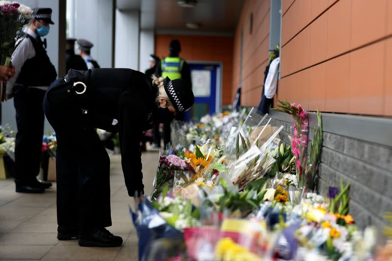 UK police arrest man connected with fatal shooting of police officer