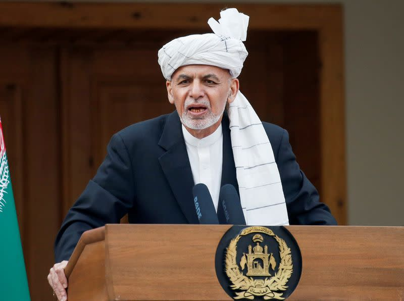 Afghan president orders troops to switch to 'offensive' stance after attacks