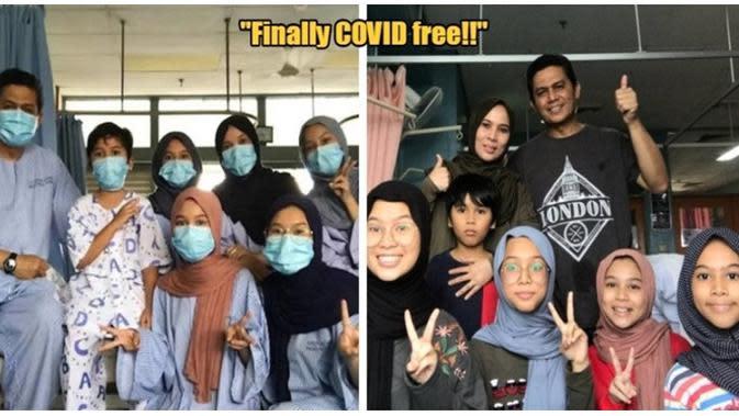 Sempat Viral, Satu Keluarga di Malaysia yang Positif Corona Ini Dinyatakan Sembuh