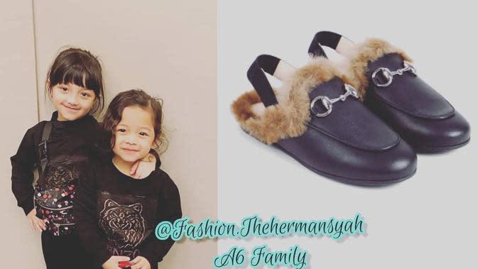 Anak seleb yang memiliki barang dengan harga fantastis. (sumber: Instagram @fashion.thehermansyah)