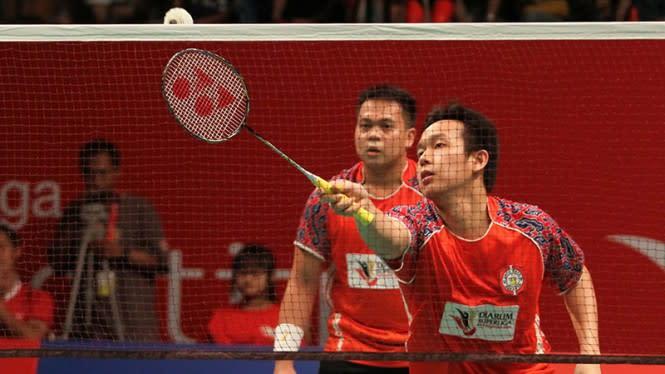 Kido/Hendra Gemparkan Olimpiade Beijing, Ganda Putra China Terkapar