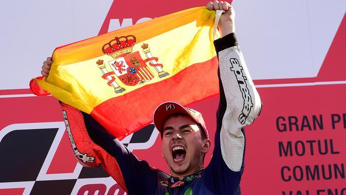 Jorge Lorenzo. (AFP Photo/Javier Soriano)