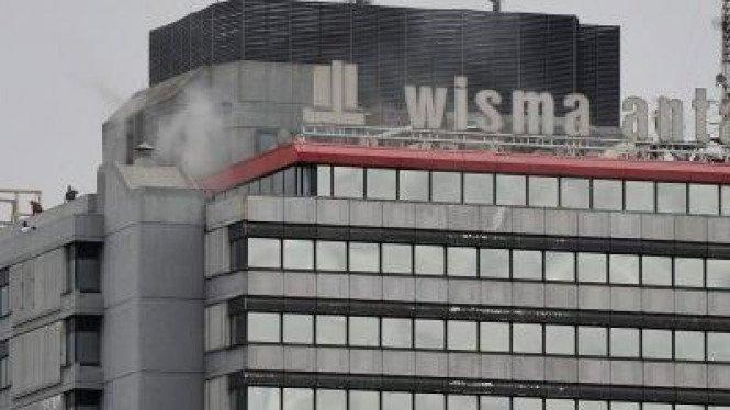 Wisma Antara Terpapar Corona, Wakil Wali Kota Jakpus Tinjau Langsung