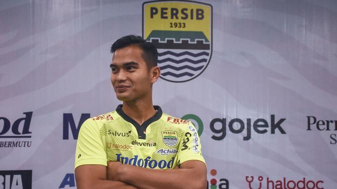 Penjaga gawang anyar Persib Bandung Dhika Anggara. (Liputan6.com/Huyogo Simbolon)