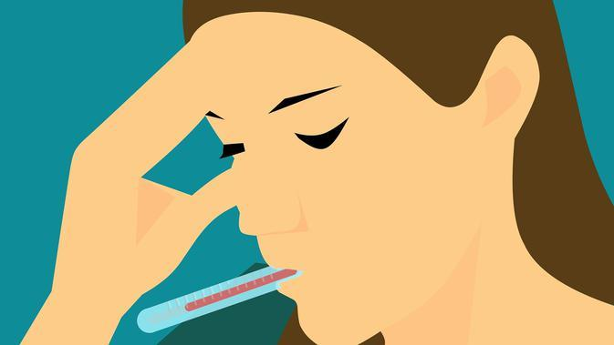 Gelaja virus corona juga disertai dengan adanya sakit kepala.(sumber foto: unsplash)