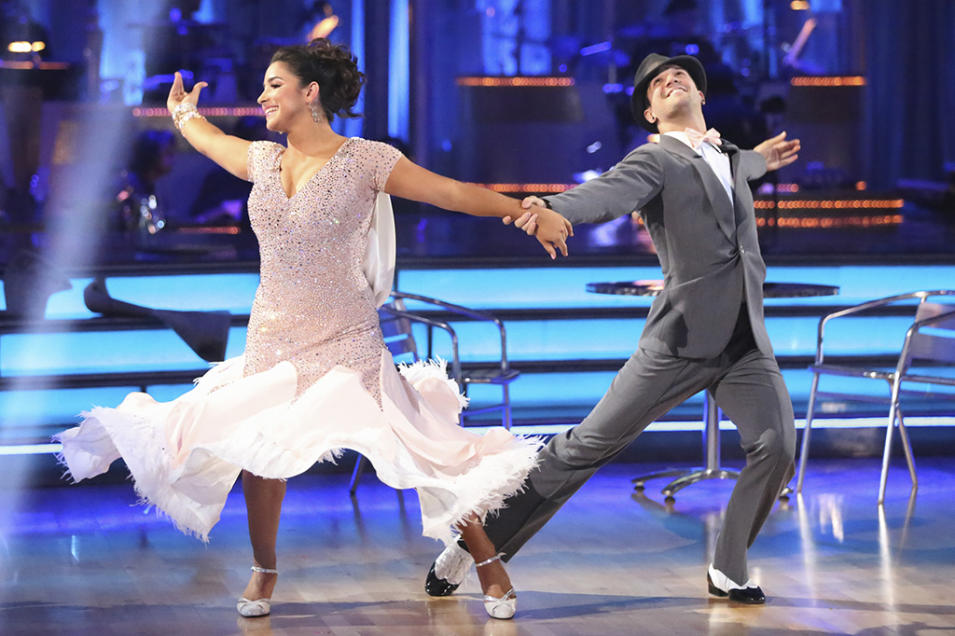 Alexandra Raisman and Mark Ballas (4/22/13)