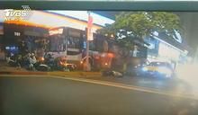 公車撞20機車1死1傷 司機認毒駕遭起訴