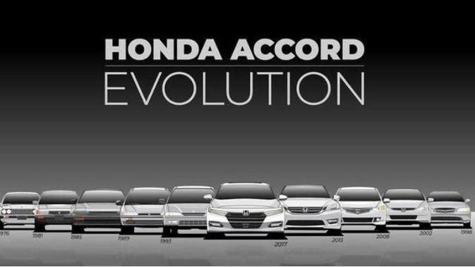 Evolusi Honda Accord dari Generasi ke Generasi