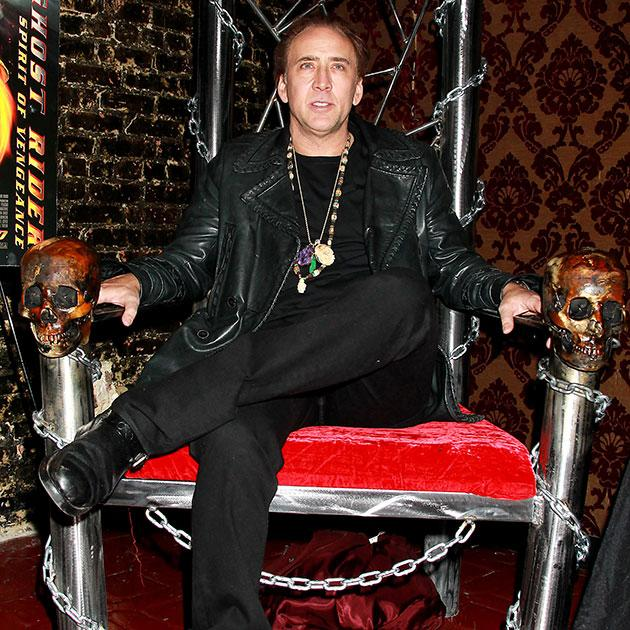 Nicolas Cage's most outrageous purchases