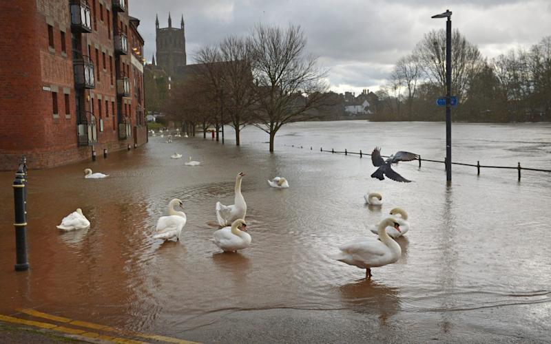 A threat to life warning has been issued for the River Severn - Jacob King/PA
