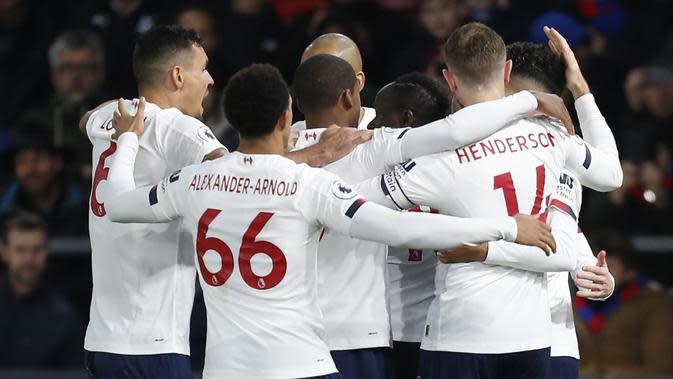 Liverpool kokoh di puncak klasemen Liga Inggris. (AFP/Ian Kington)