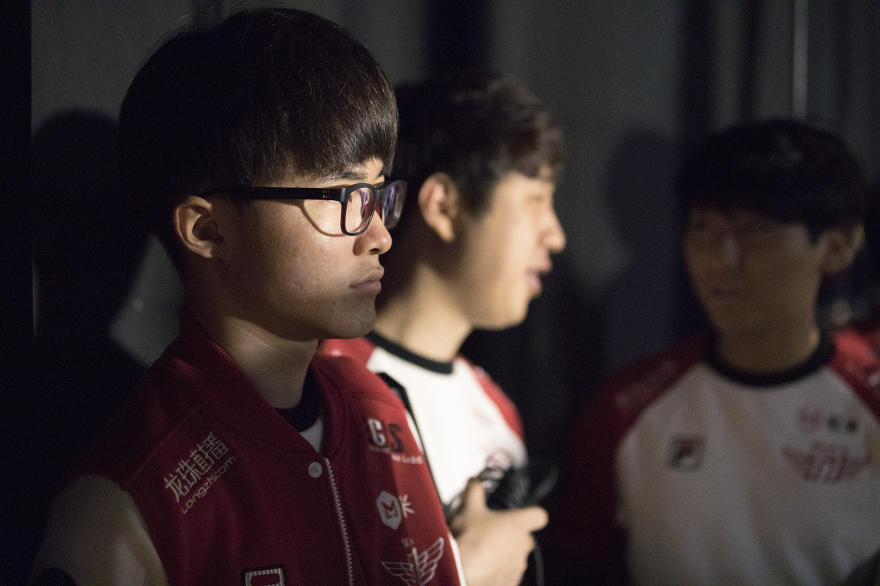 Faker is looking for his third World Championship in four years (Lolesports/Riot Games)