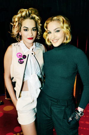 See Rita Ora Get Her Madonna on (Literally)!