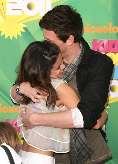 RIP, Cory Monteith: Stars Honor Him With Photos on Twitter - Selena Gomez - This hurts. I love you Cory. Rest in peace. My thoughts and prayers are with you and your family.