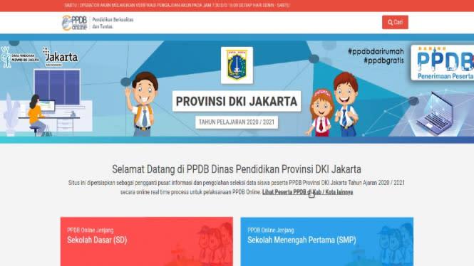 PPDB DKI Jakarta 2020 Selesai, Ribuan Kursi Masih Kosong