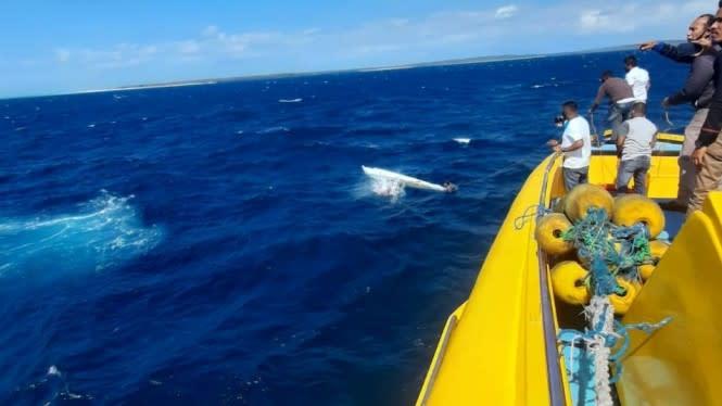 Kapal Tenggelam di Selat Pukuafu: 21 Selamat, 2 Meninggal