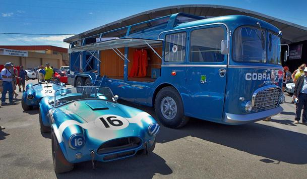 A Cobra-powered weekend of race cars at the Rolex Monterey Motorsports Reunion