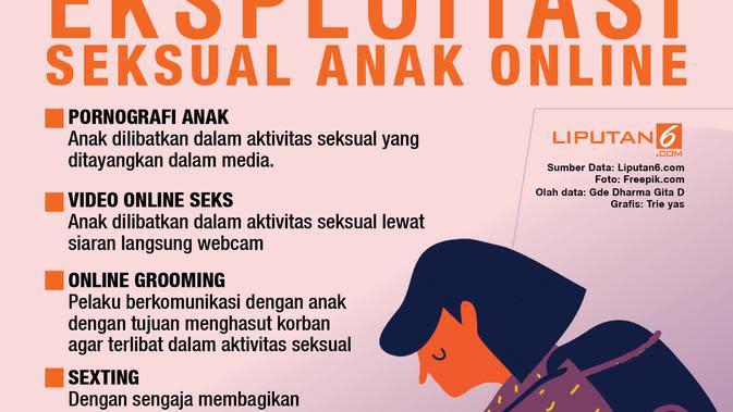 Infografis eksploitasi seksual anak (Liputan6.com/Triyasni)