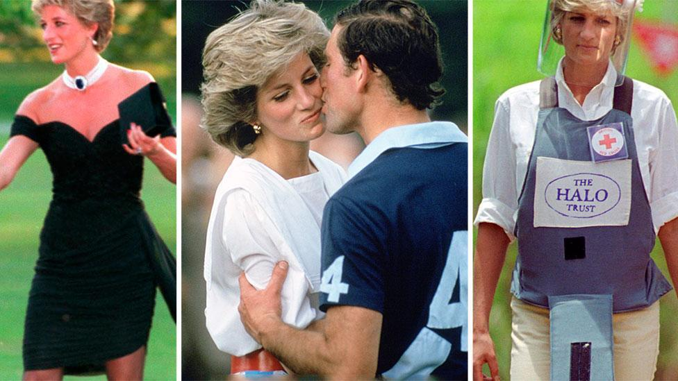 Princess Diana's life in pictures