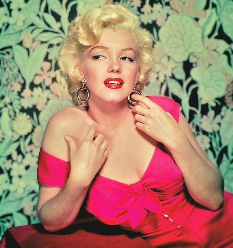 MARILYN MONROE (1926-1962) American film actress about 1954