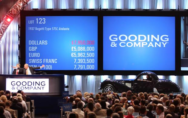 Why $301 million worth of cars sold in a single weekend at Pebble Beach