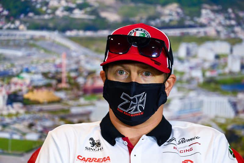 Raikkonen set for one record, Hamilton hopes for another
