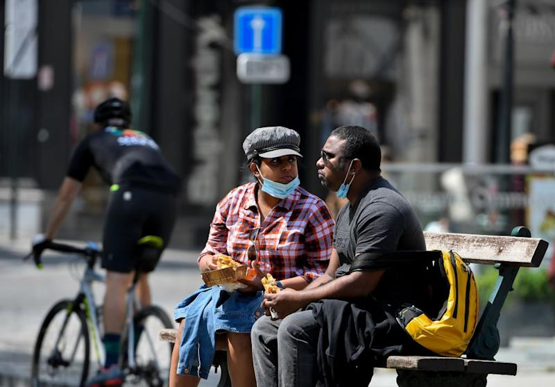 Tourists in Brussels - getty