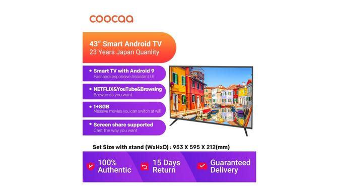Coocaa Smart TV 43S3G