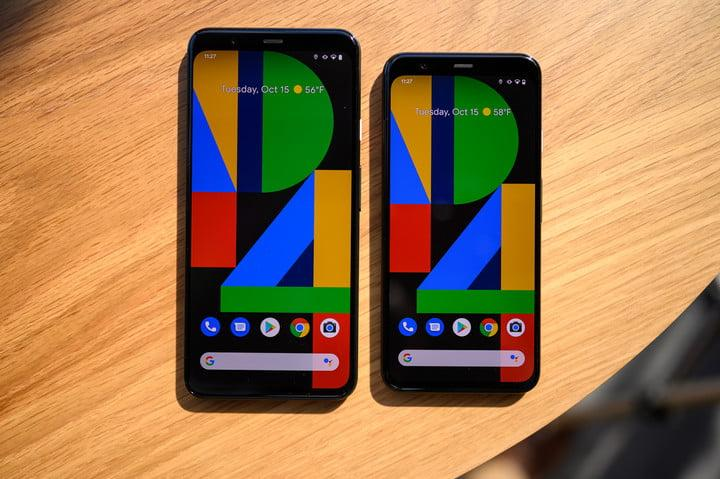 pixel 4 and pixel 4 xl screen comparison