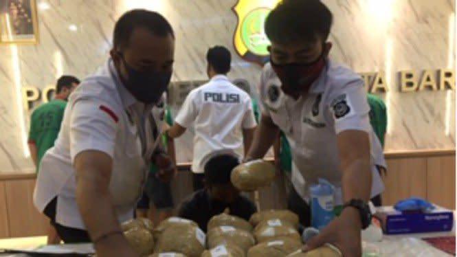 Polisi Gagalkan Peredaran Sabu 18 Kg, Pelaku Dilumpuhkan