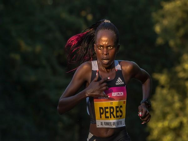 Kenyan long-distance runner Peres Jepchirchir (Photo/World Athletics Twitter)