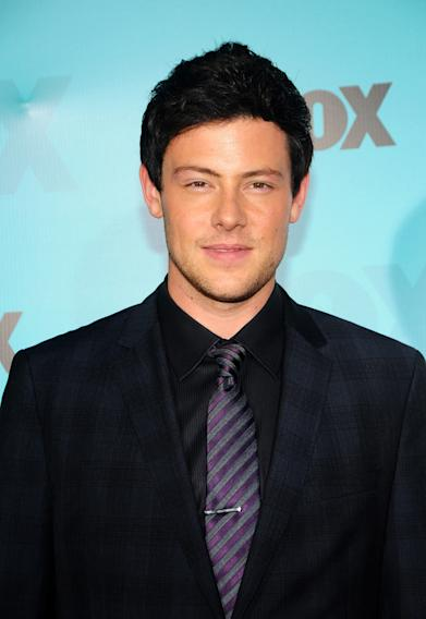 Fox 2012 Programming Presentation Post-Show Party - Cory Monteith