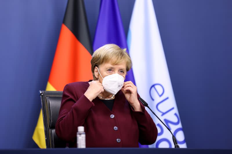 Merkel urges Germans to reduce contacts and travel as infections rise