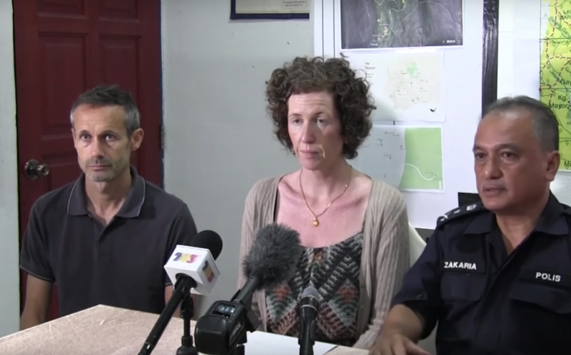 Nora Quoirin's parents speak to media on Wednesday following the discovery of their daughter's body.
