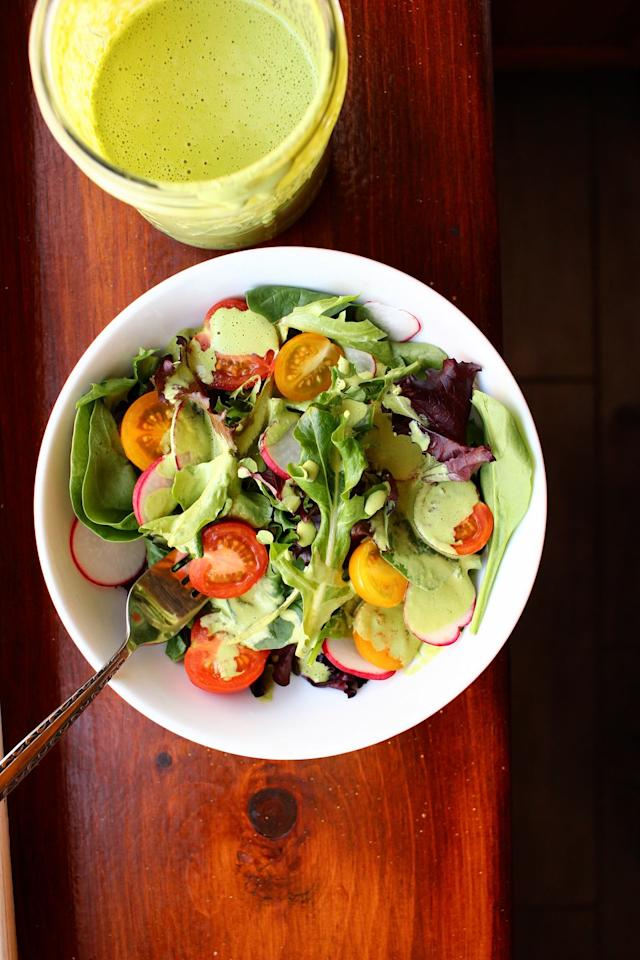 <p>This delicious dressing is SO versatile.</p><p>Get the recipe from Delish.</p>