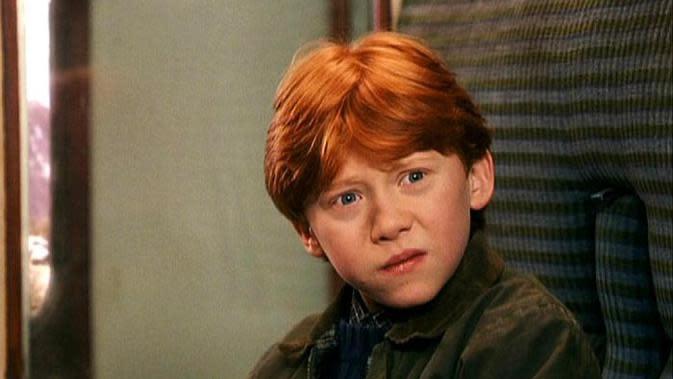 Pemeran karakter Ron Weasley, Rupert Grint, mengaku bahwa dirinya tak lagi bisa menikmati franchise Harry Potter. (Warner Bros)