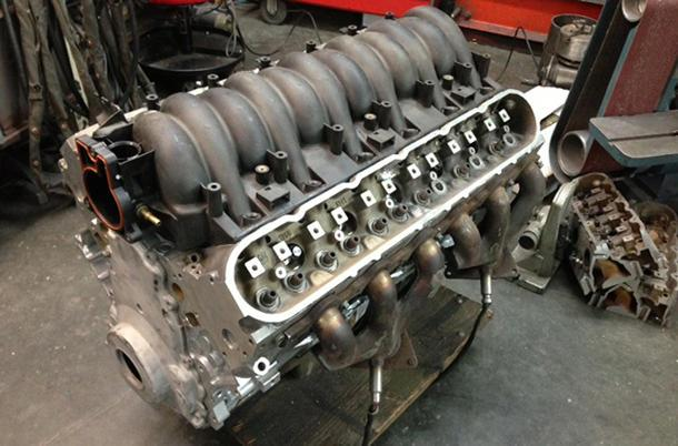 How to build a Vette-based V-12 engine, the hard way