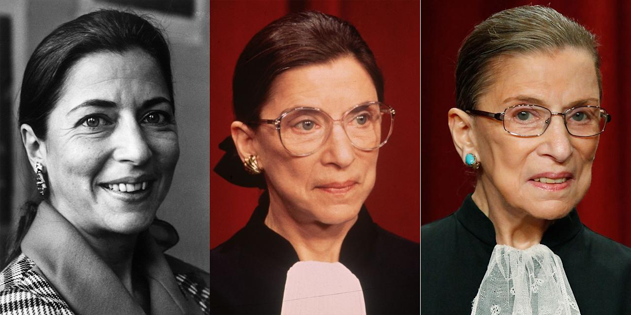 "<p>On September 18, <a href=""https://www.cosmopolitan.com/politics/a22501841/ruth-bader-ginsburg-dies-obit/"" target=""_blank"">Supreme Court Justice Ruth Bader Ginsburg passed away</a>. Ginsburg was 87 years old and served on the highest court in the United States since 1993. Her work with the Supreme Court, the American Civil Liberties Union, and as a university professor solidified her status as one of the greatest justices and equal rights advocates in U.S. history. Here are a selection of photos from <a href=""http://www.cosmopolitan.com/politics/a22502651/ruth-bader-ginsburg-rbg-best-quotes/"" target=""_blank"">RBG</a>'s life.</p>"