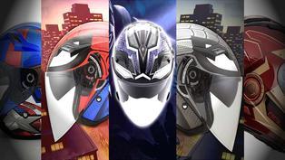 復仇者集結!SOL、KYT推出Marvel漫威復仇者聯盟主題聯名安全帽!